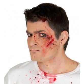 Halloween - Imitace zranění - tržná rána