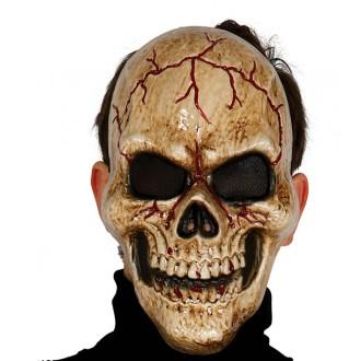 Halloween - Maska lebka - halloween