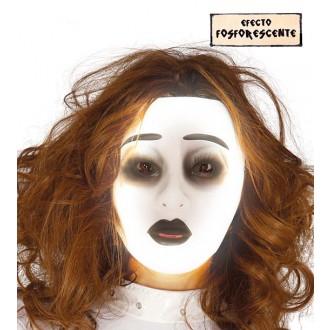 Halloween - Fluoreskující maska ducha - ONA