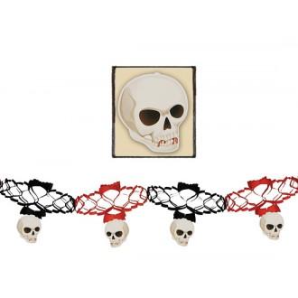 Halloween - Girlanda s lebkami 15 x 200 cm