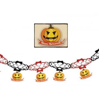 Halloween - Girlanda s dýněmi 15 x 200 cm