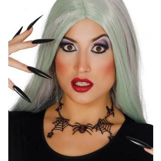 Čarodějnice - Náhrdelník s pavučinami