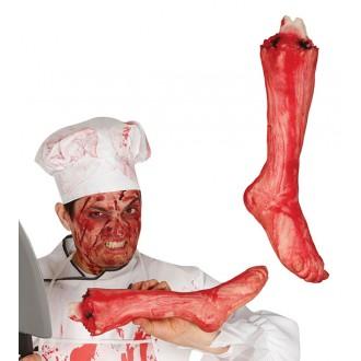 Halloween - Utržená noha 40 cm