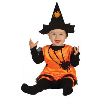 Halloween - Kostým dýně bejby