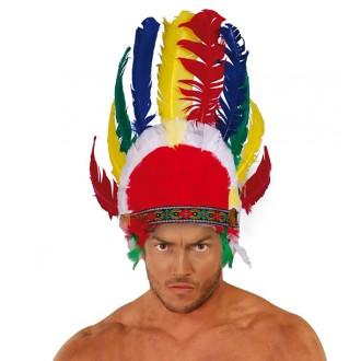 Indiáni - Indiánská péřová čelenka