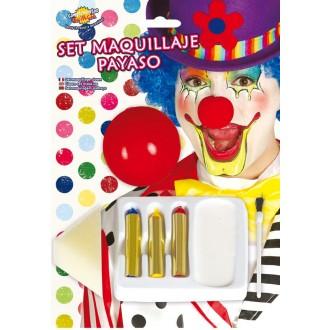 Klauni - Set líčidel pro klauna