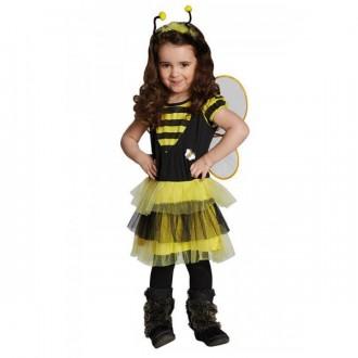 Kostýmy - Včelka - šaty s křídly