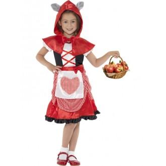 Kostýmy - Dětský kostým - Červená Karkulka