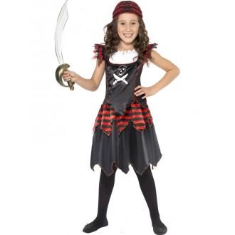 Kostýmy - Dívčí pirátský kostým