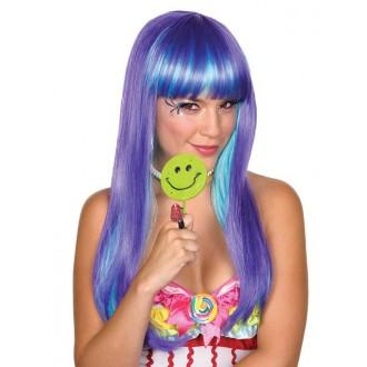Paruky - Candy Babe Wig lilla - paruka