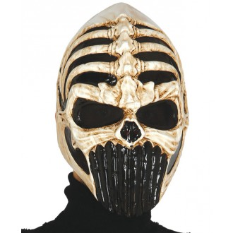 Masky - Maska skull warrior