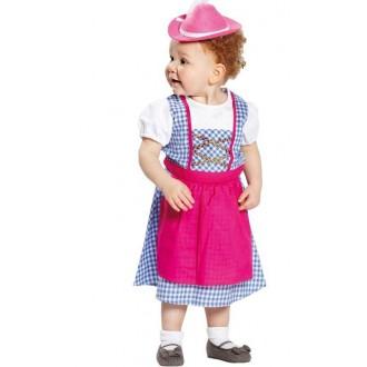 Kostýmy - Heidi - tradiční dětský kostým