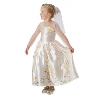 Kostýmy - Cinderella Wedding-Dress Live Action Movie - Child