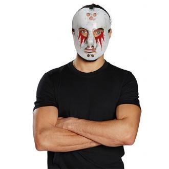 Halloween - Hokejová maska zakrvavená