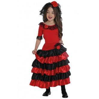 Kostýmy - Španělka - dětský kostým