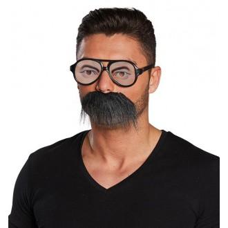 Brýle - Brýle s vousy - set