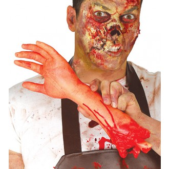 Halloween - Utržená ruka