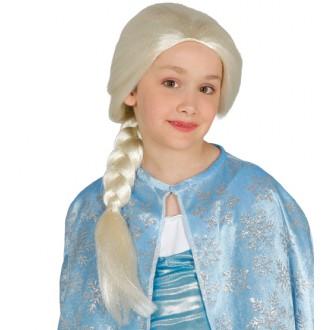Paruky - Dětská paruka princezna s copem
