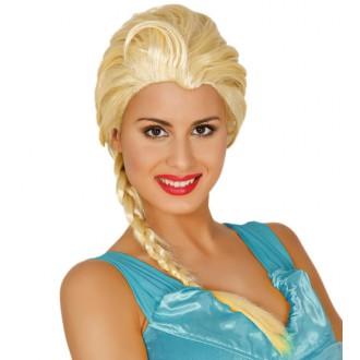 Paruky - Paruka Princezna blond s copem