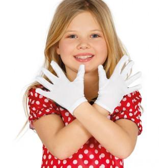 Rukavice - Dětské rukavice bílé