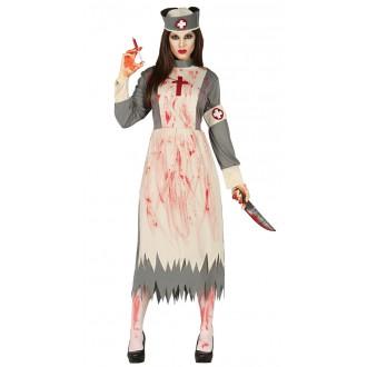 Halloween - Zombie ošetřovatelka - kostým