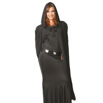 Čarodějnice - Plášť s kapucí dámský 135 cm