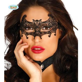 Masky - Škraboška krajka netopýr