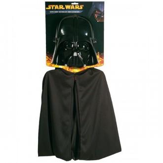 Kostýmy - Dětský kostým Darth Vader maska+plášť - Star Wars