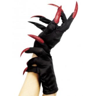 Halloween - Halloweenské rukavice