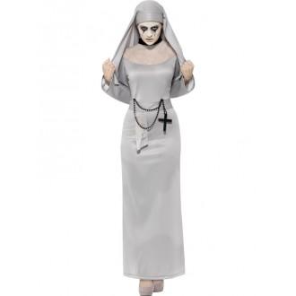 Halloween - Kostým gothické jeptišky