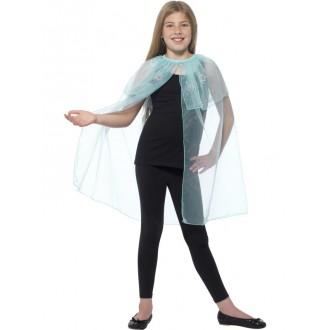 Kostýmy - Dětský plášť s vločkami
