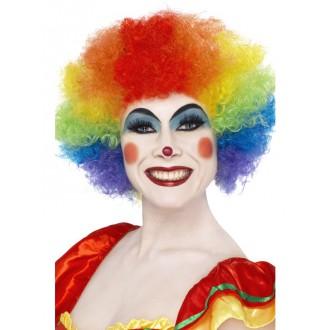 Paruky - Paruka klaun barevná