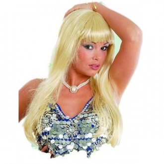 Paruky - Paruka blond Melenas