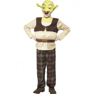 Kostýmy - Dětský kostým Shrek
