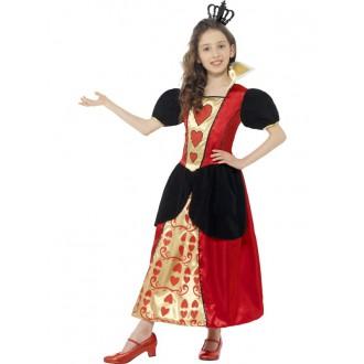 Kostýmy - Dětský kostým Srdcové královny