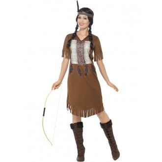 Kostýmy - Kostým indiánské bojovnice