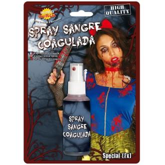 Halloween - Krev ve spreji