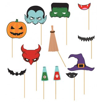 Halloween - Pártyset halloween 12 ks