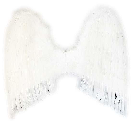 Křídla anděl péřová 55 x 48 cm