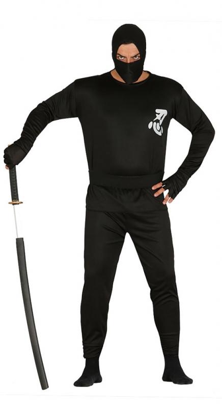 Pánský kostým NINJA - L 52 - 54