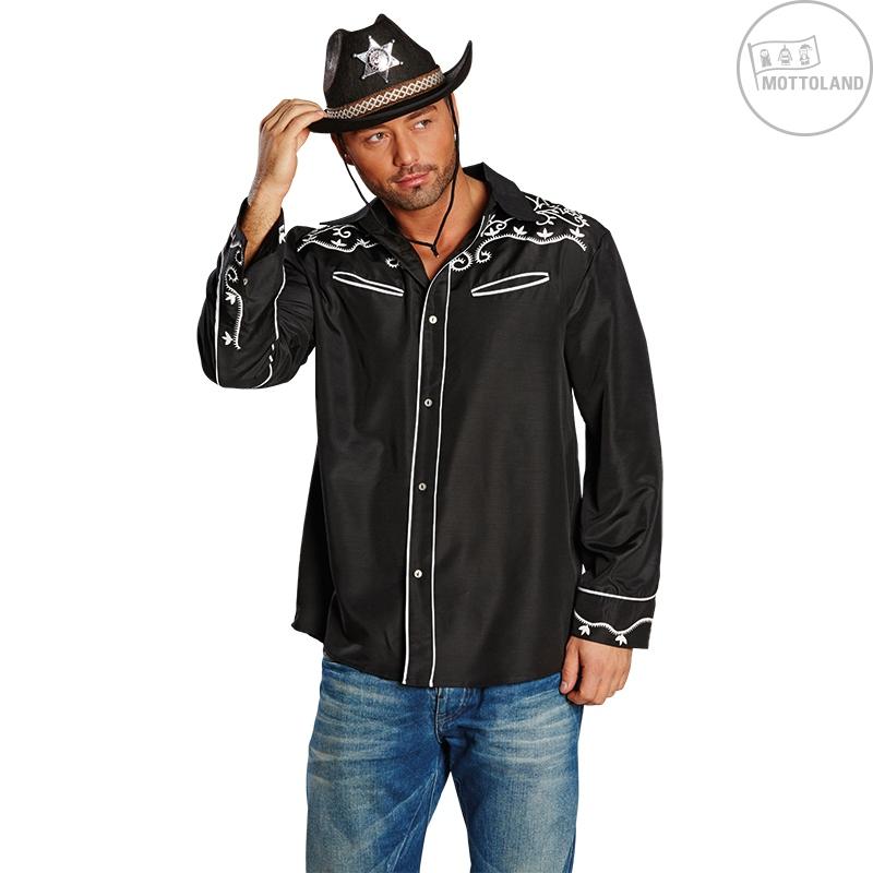 Kovbojský klobouk TEXAS černý
