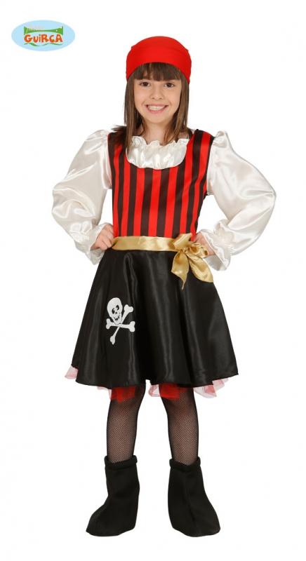 Pirátka - kostým pro děti - 10 - 12 roků