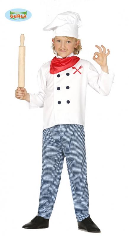 Kuchař - dětský kostým - 10 - 12 roků