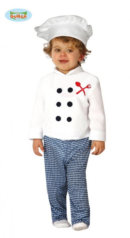 Kuchař - kostým pro nejmenší - 12 - 24 měsíců