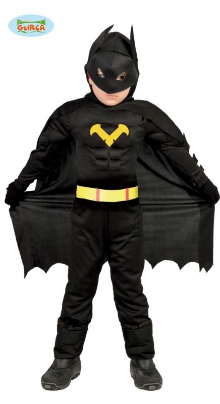 Kostým BATMAN dětský - 3 - 4 roky