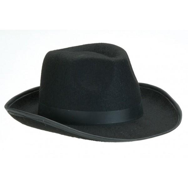 56320a890d6 Pánský černý klobouk - Svět masek.cz