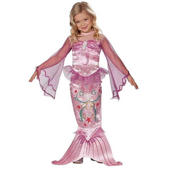 Kostým Pink Mermaid - M 5 - 7 roků