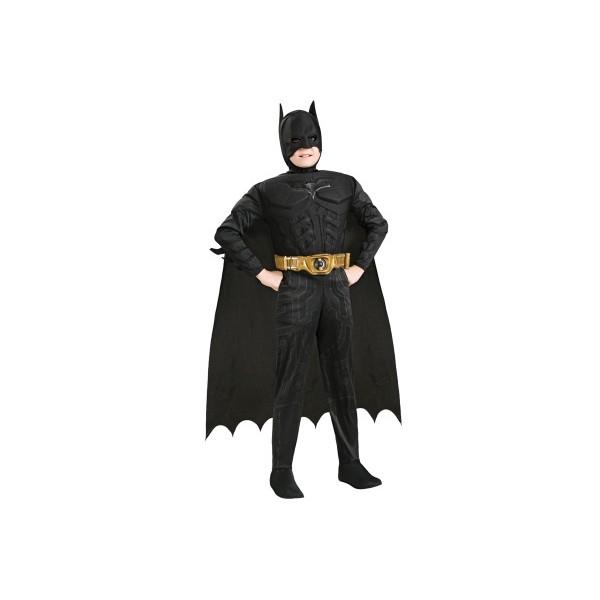 Deluxe Muscle Chest Batman - licenční kostým - S 3 - 4 roky