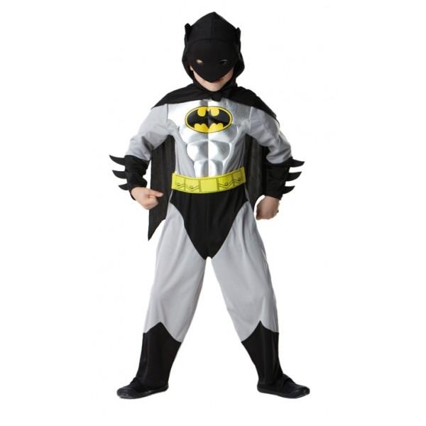 Batman - licenční kostým - L 8 - 10 roků