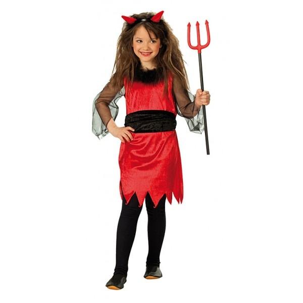 7bc3803fd200 Malá čertice - dětský karnevalový kostým